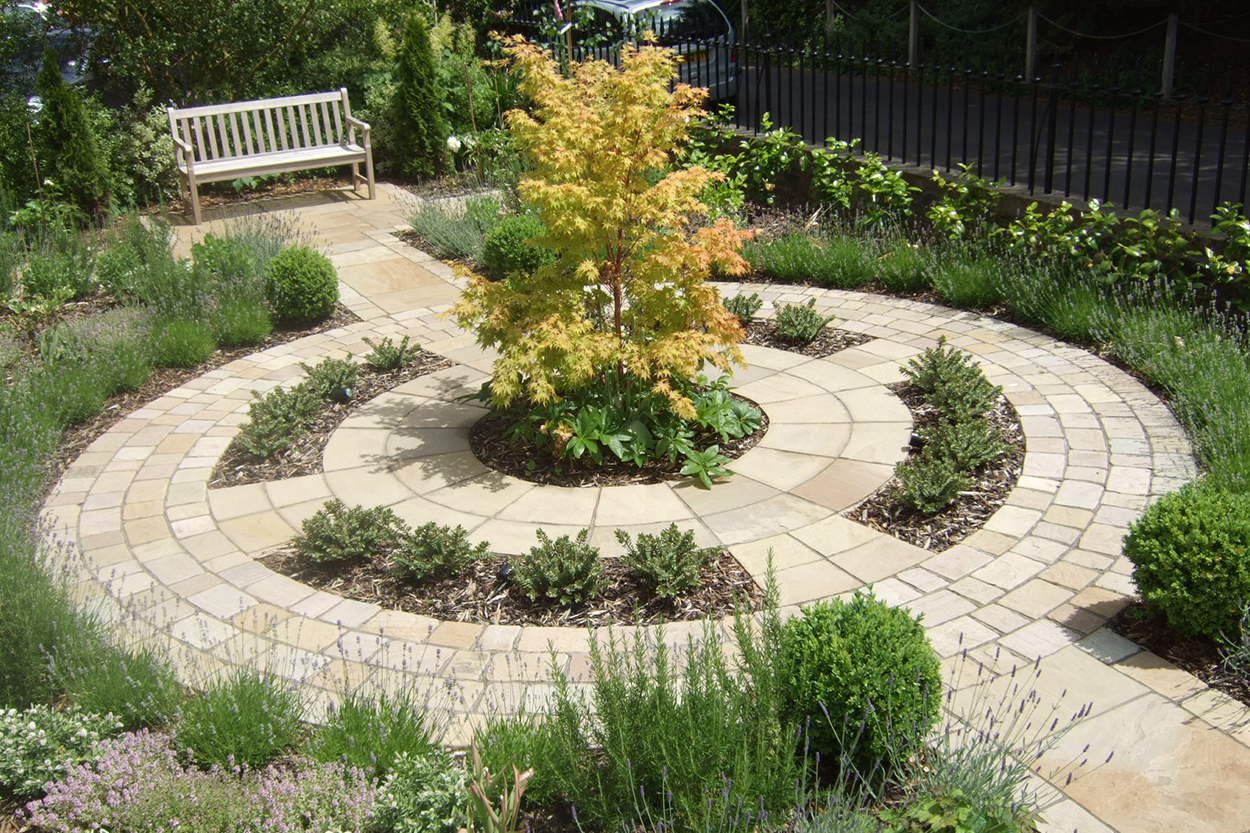Formal Front Garden | outerspace