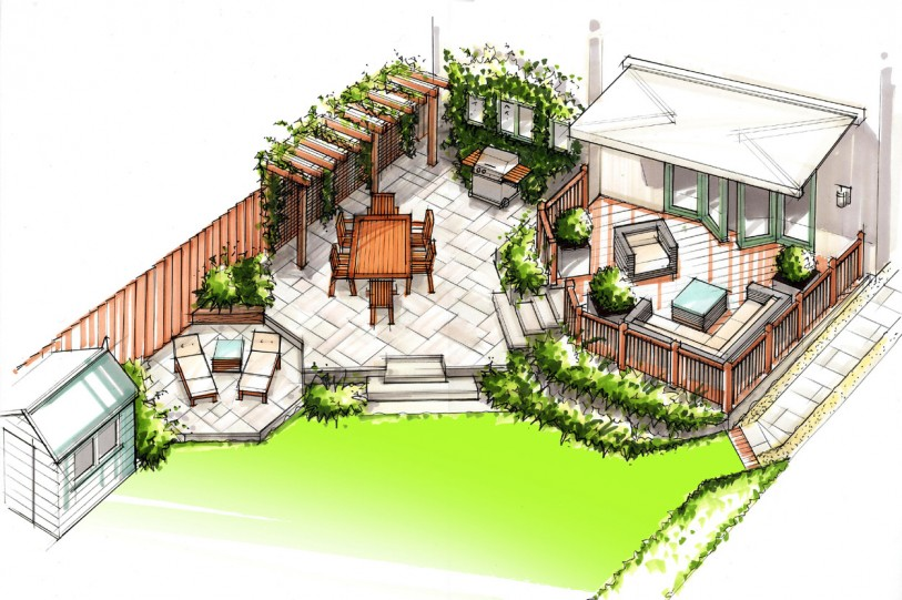 Projects outerspace for Outer space garden design clevedon