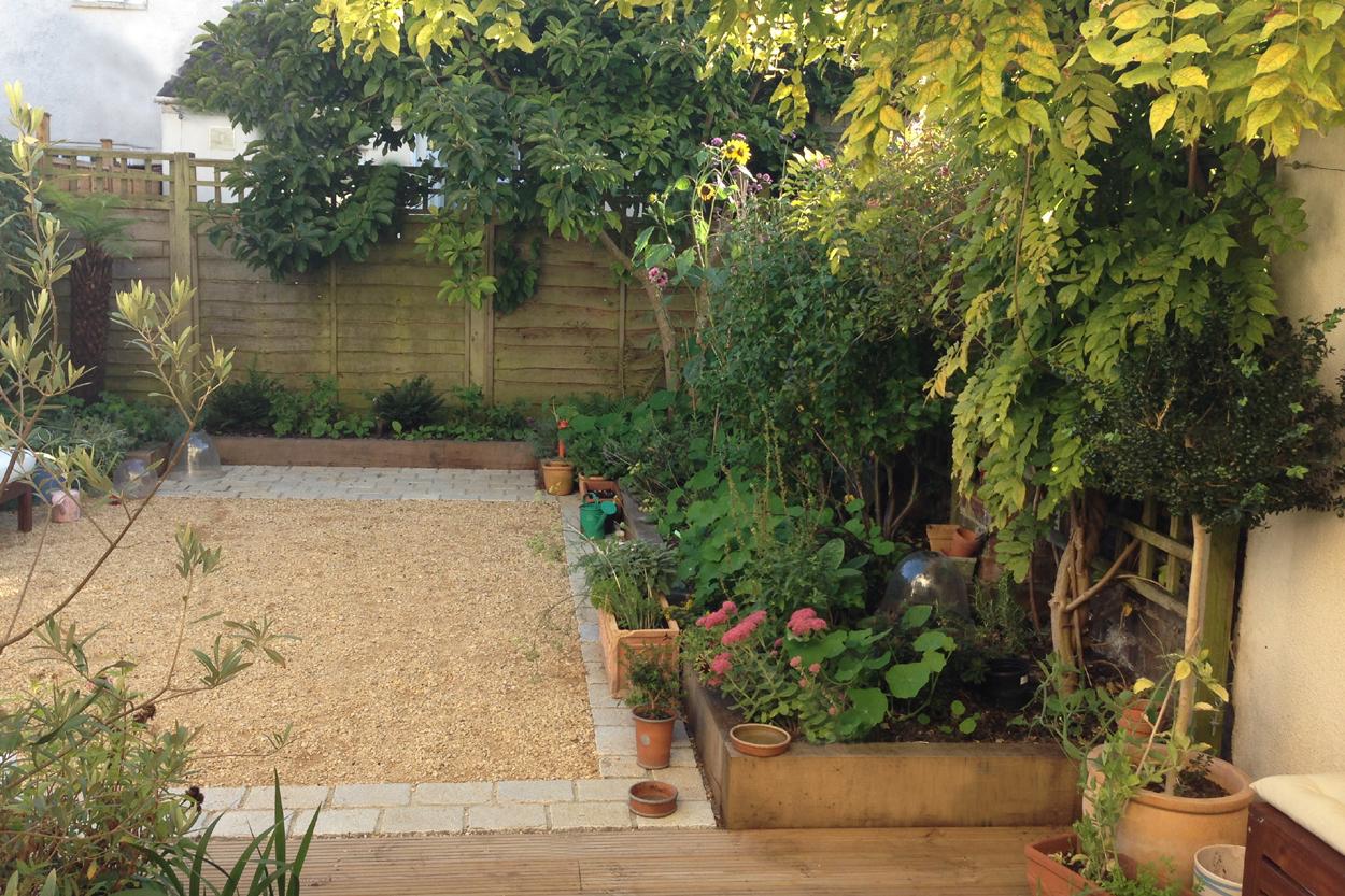 Planting In Gravel Landscaping
