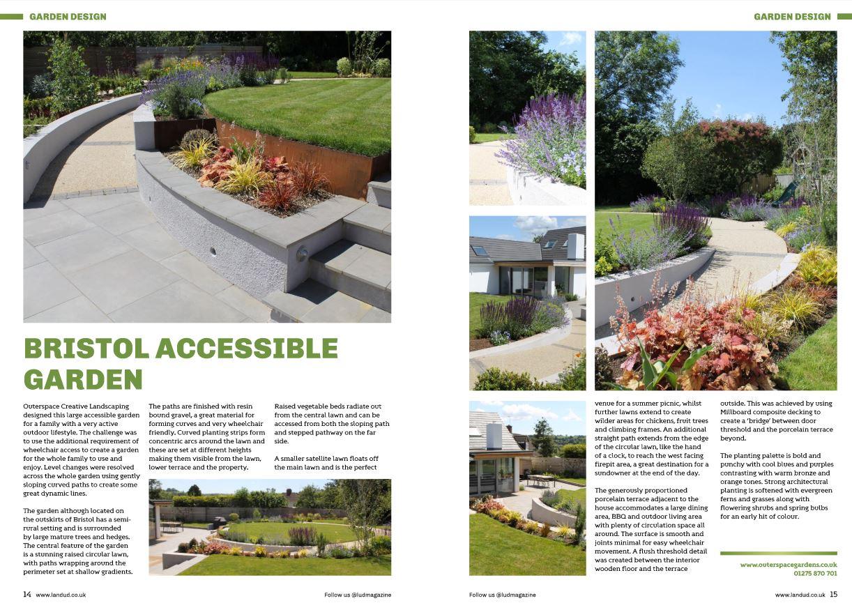 In the Press...Landscape and Urban Design Magazine ...